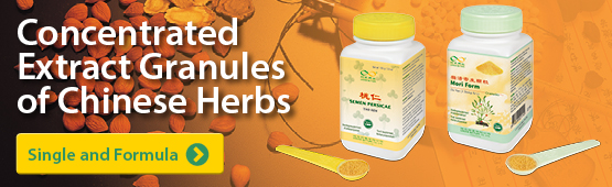 Concentrated Extract Granules of Chinese Herbs